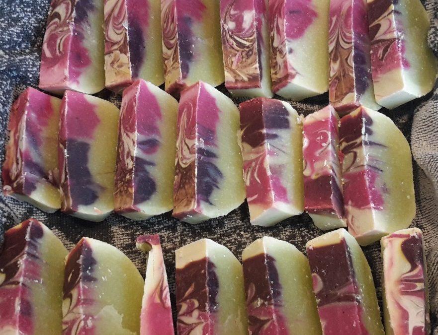 Lavendelseife selbst gemacht