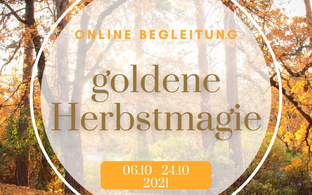 goldene Herbstmagie
